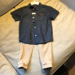 NWT Boys 7 for all mankind outfit.